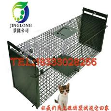 折叠踏板捕猫笼