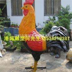 2017年公鸡雕塑