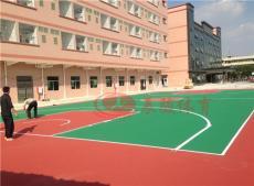 室外篮球场 羽毛球场