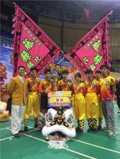 藤县舞狮子表演