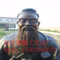 旭升铜雕工艺品厂铸造名人雕塑