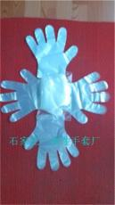 透明全新料一次性使用PE薄膜手套批发厂家
