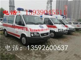 山东济南福特全顺V348救护车急救车专卖