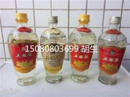 胶盖装老水晶瓶五粮液酒 1983年五粮液经销