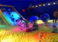 百萬海洋球廠家直售透明水晶宮寶寶樂園