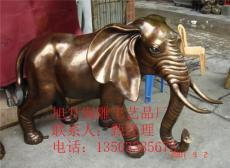 铸铜大象 大型铜大象价格 旭升铜雕