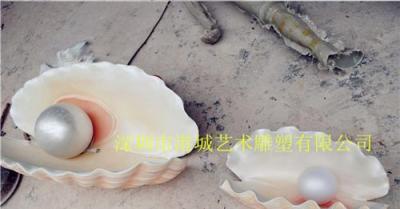 文昌贝壳雕塑