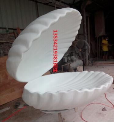 三沙市海洋生物贝壳雕塑
