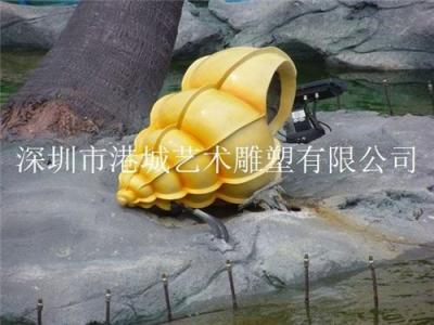 海口贝壳雕塑