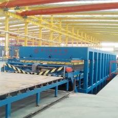 國森規格17.5*3.2房車保溫車廂體復合板設備