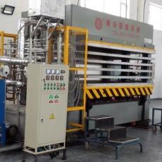 精細度高鋁蜂窩芯層壓板成型壓板機械