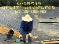黑膜沼气池焊接技术指导 专业黑膜沼气建设