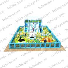 廣州酷樂玩具充氣百萬海洋球池兒童游樂設備
