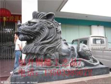 定做铜雕狮子 大型铜狮子铸造厂家 旭升铜雕