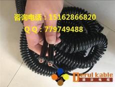 柔性抗拉螺旋弹簧电缆