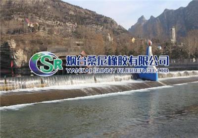 厂家生产指导安装桑尼气盾坝设计施工方案