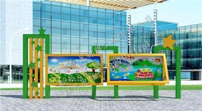 湖南亿龙宣传栏厂家定制 校园文化宣传灯箱