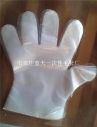 一次性HDPE透明塑料薄膜手套