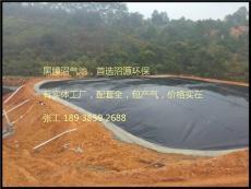 黑膜沼气池工程不产气漏气怎么办如何维修