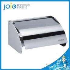 不锈钢卷纸盒批发 聚源不锈钢厕所卷纸盒