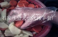 PE材质食品卫生手套