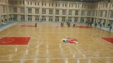 商洛篮球实木地板枫木单层体育比赛地板运动