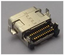 双排贴USB 3.1type-C母座接口 带版/不带版