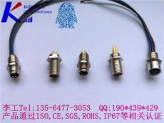 传感器插座 M8板前/板后安装插座