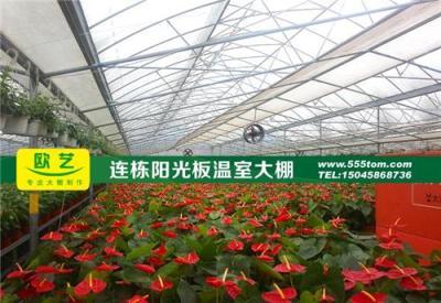 黑龙江定做大型生态餐厅温室工程