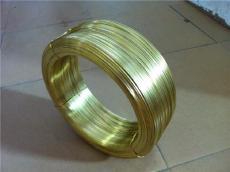 生產定制 黃銅扁線 黃銅線壓扁加工 H62 H65