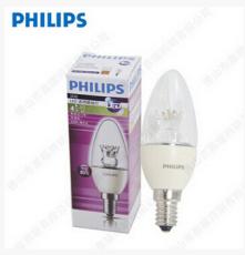 飞利浦可调光B38 4W/6W E14 LED蜡烛灯尖泡