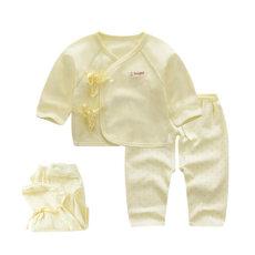 秋新生儿衣服0-3月纯棉婴儿衣服和尚服内衣