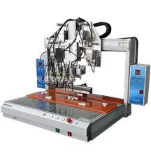 單平臺四軸自動焊錫機