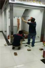 廣州越秀區雙開玻璃門維修定做 地彈簧安裝