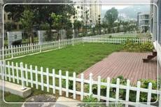 宿松PVC绿化护栏塑钢草坪护栏 塑钢绿化护栏