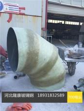 FRP管件脱硫专用耐磨防腐耐高温管件
