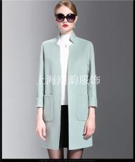 上海小批量生產手縫雙面羊絨雙面尼大衣加工
