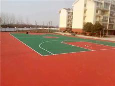 潮州户外运动场地施工 防滑篮球场地面层