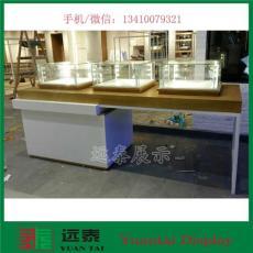 創意園精品展柜 深圳獨立玻璃罩實木展柜