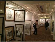 北京書畫攝影展架展板展墻出租賃搭建銷售