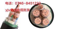 yjv电缆型号规格及价格