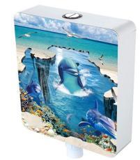 水箱3D片 水箱3D面版 卫浴3D片 卫浴3D