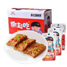 厂家直销樊三休闲食品撕起吃麻辣小零食批发