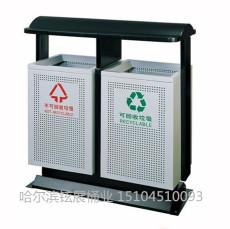 双鸭山街道分类垃圾箱 双鸭山园林垃圾箱