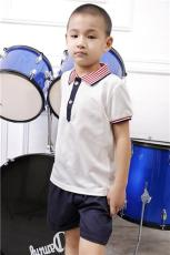 花鏡2017夏季幼兒園園服訂做休閑運動套裝
