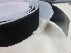 促銷黑白色彩色尼龍強力雙面帶膠背膠魔術貼