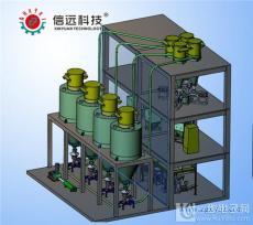 水溶肥自動配料粉劑生產線