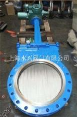 DMZ973HWYXF电动暗板刀型闸阀 铸钢刀闸阀