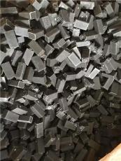 大理石石材幕墙玻璃填缝黑塑料垫片垫块调水
