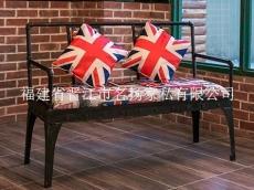 泉州咖啡廳桌椅西餐廳實木做舊餐桌椅批發